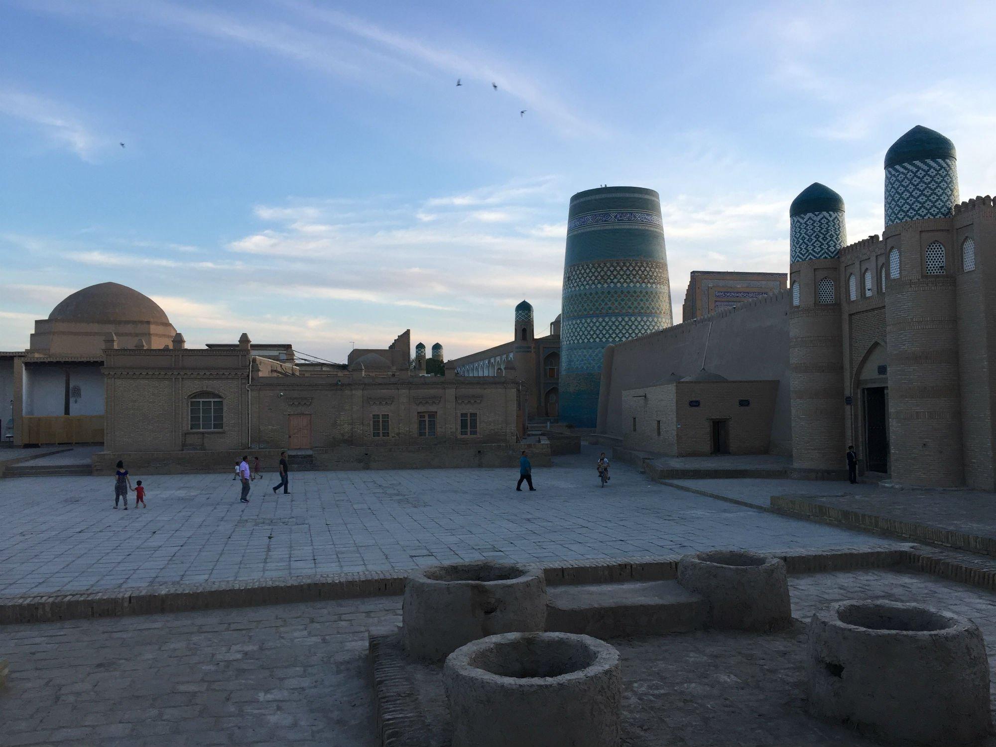 UZBEKISTAN Khiva sunset VIAGGIO IN UZBEKISTAN