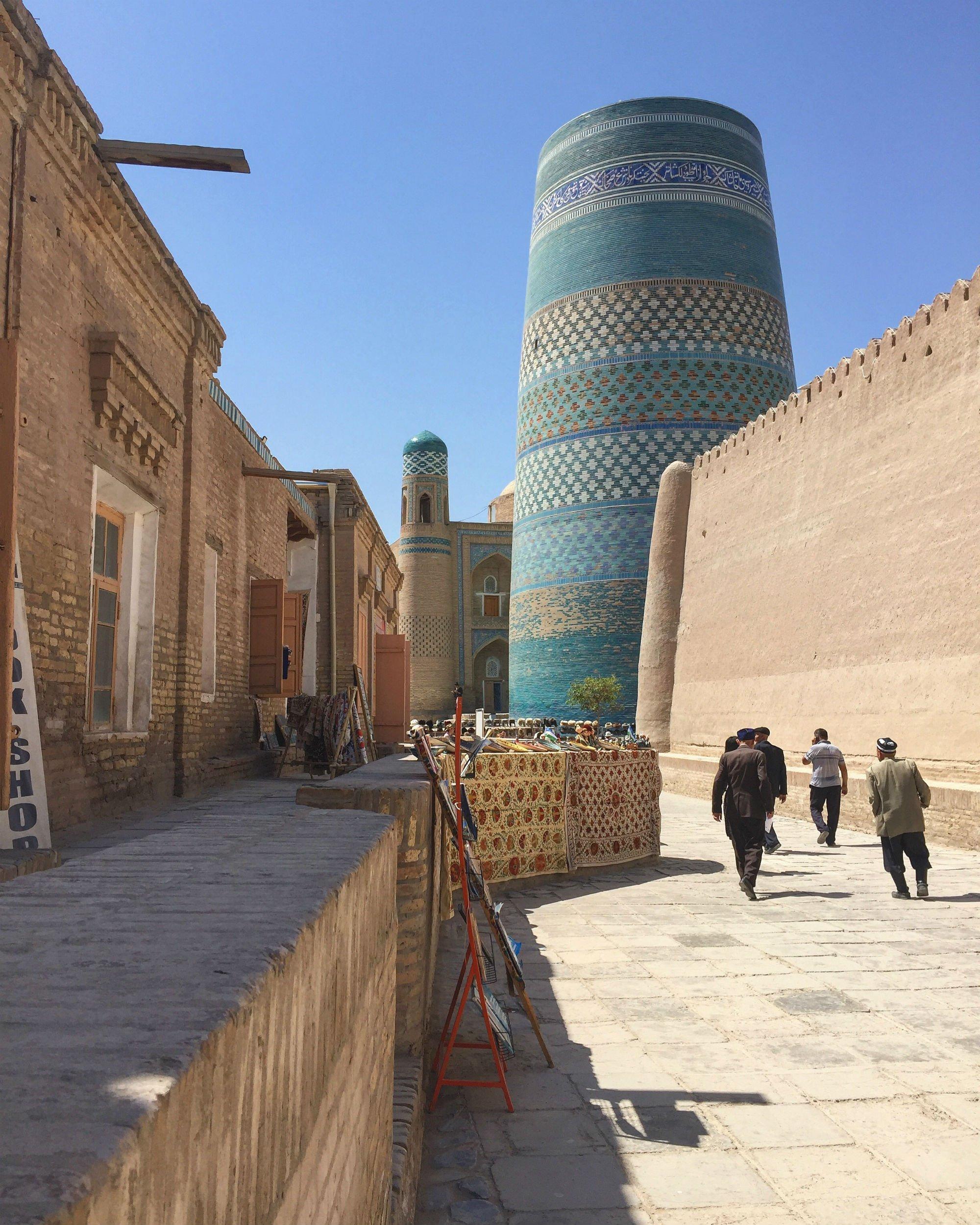 UZBEKISTAN Khiva VIAGGIO IN UZBEKISTAN