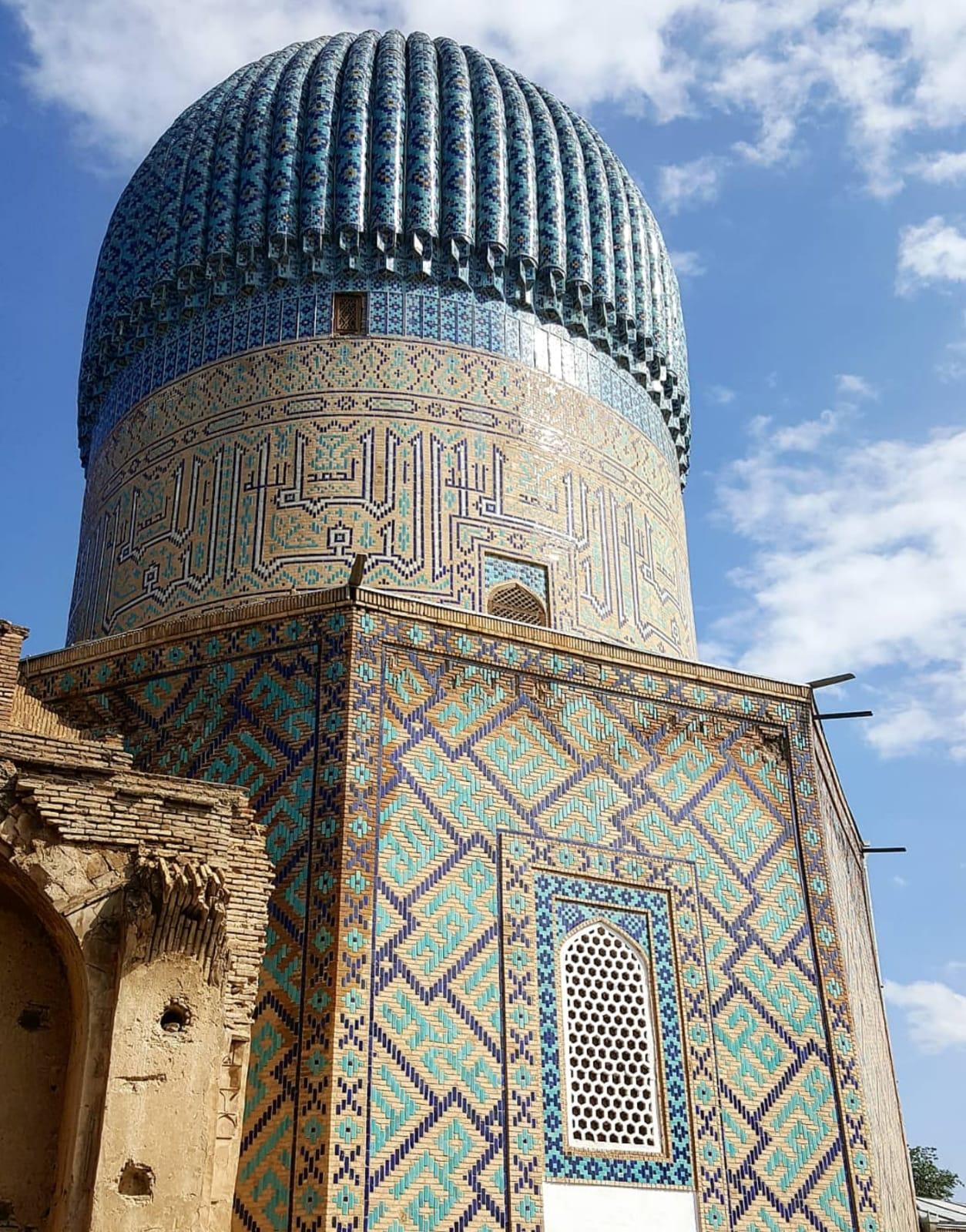 UZBEKISTAN Samarcanda Moschea Bibi Khanym VIAGGIO IN UZBEKISTAN