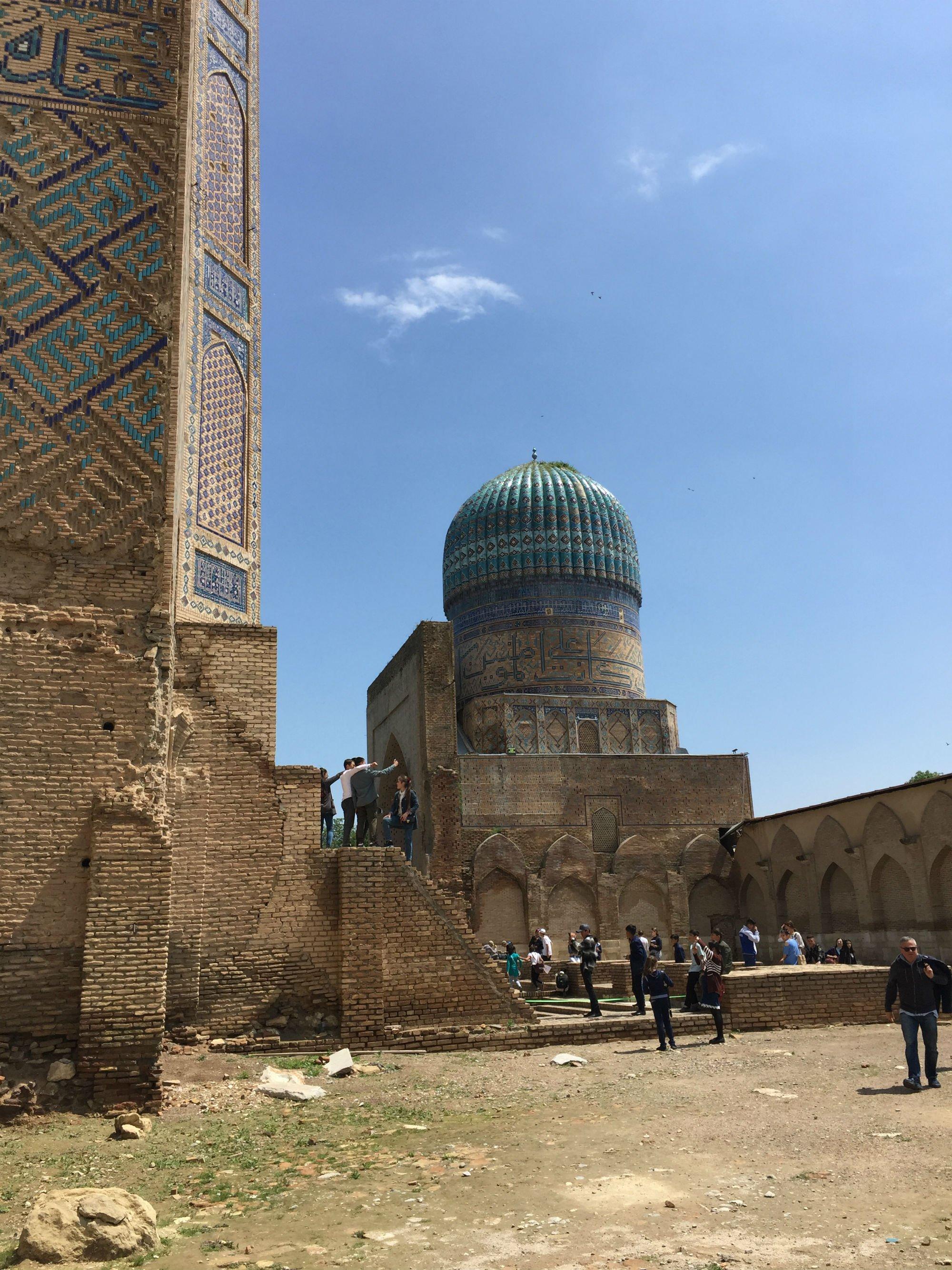 UZBEKISTAN Samarcanda Moschea Bibi Khanym1 VIAGGIO IN UZBEKISTAN