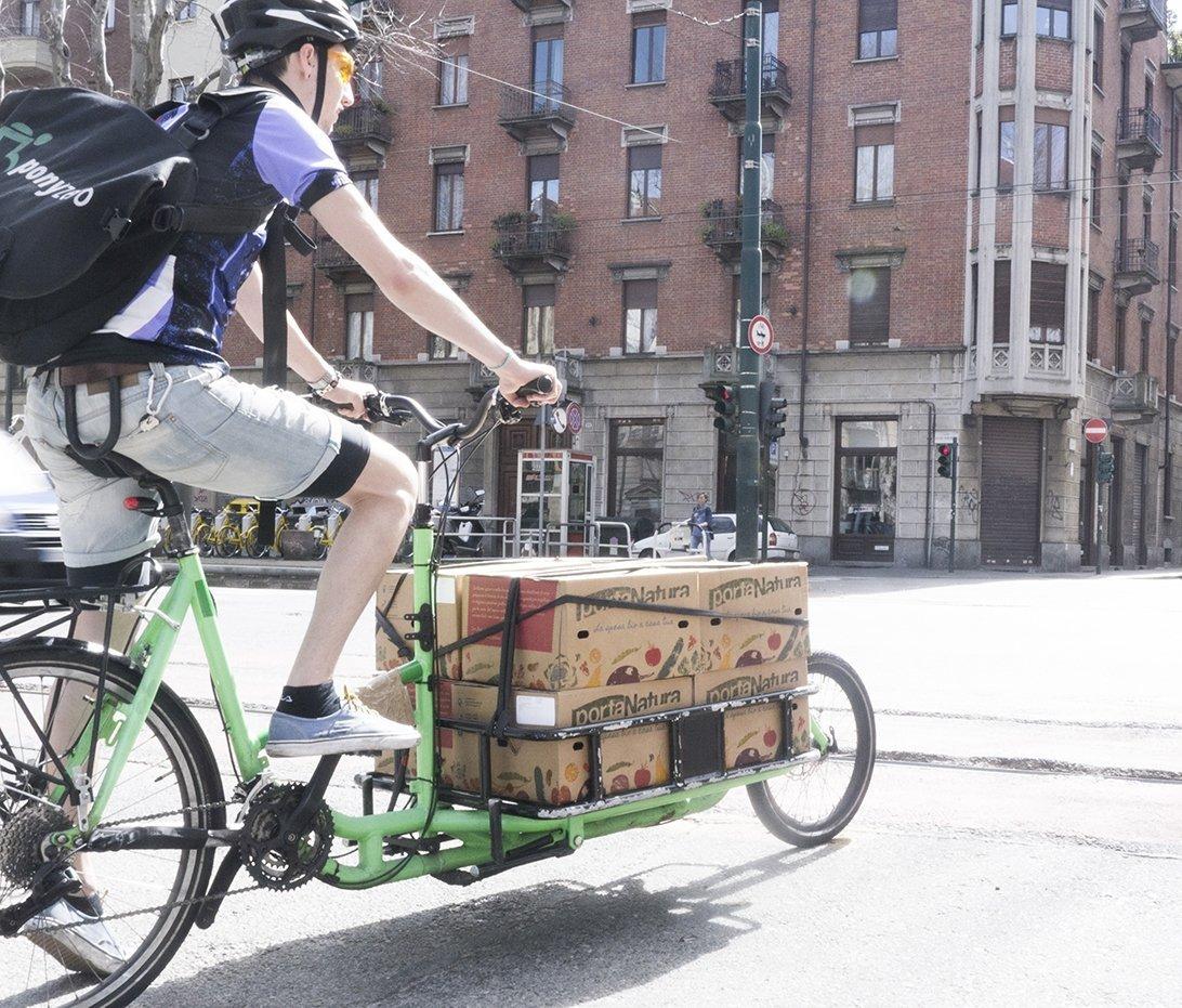 portanatura bici Torino LA RIVOLUZIONE DELLA SPESA
