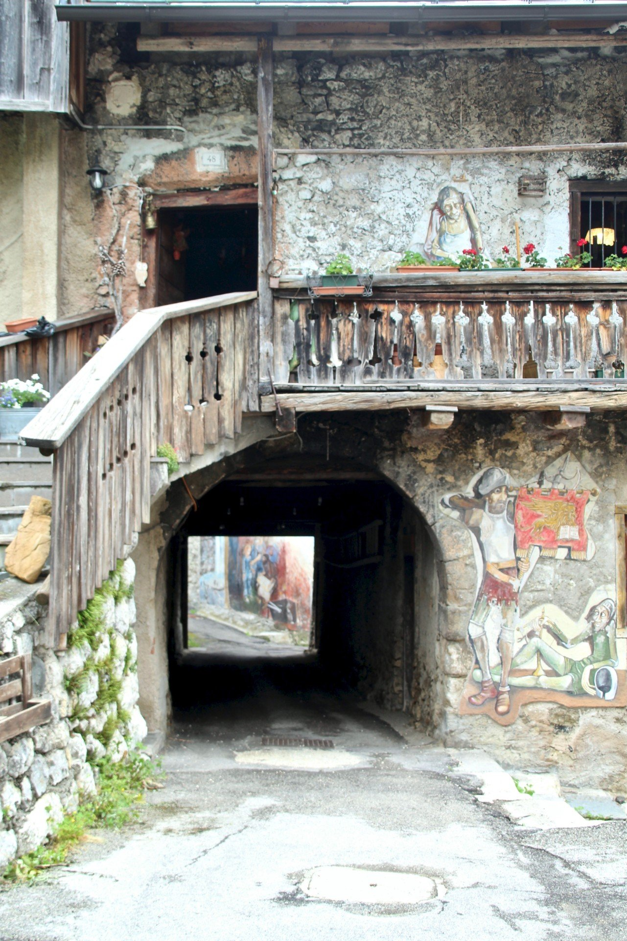 CIBIANA7 ARTE E ARCHITETTURA SULLE DOLOMITI VENETE