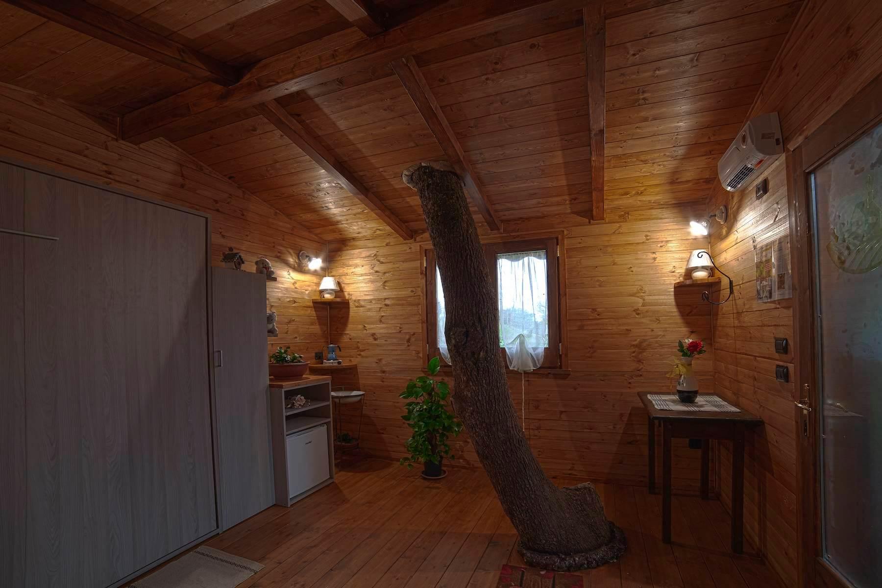 Casa sullalbero interno PASSIONE GLAMPING