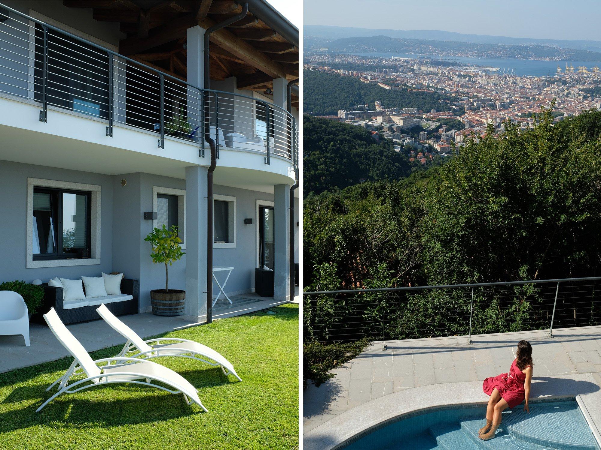 bnb villa bella vista WEEKEND A TRIESTE
