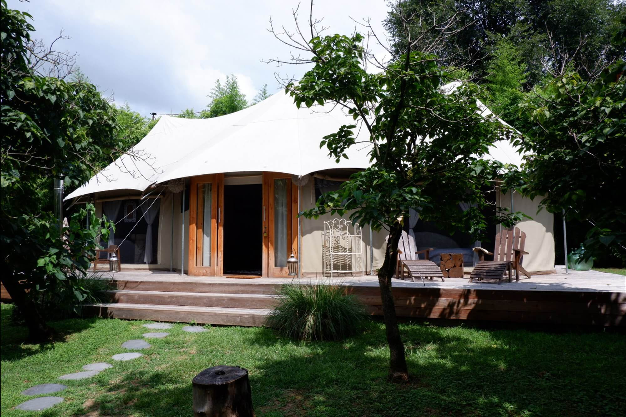 glamping canonici PASSIONE GLAMPING