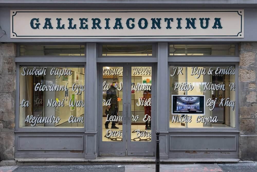 Truc a faire Continua 0389 Galleria Continua apre a Parigi