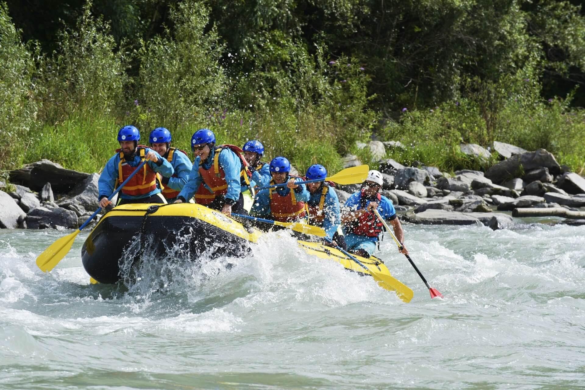 7.rafting WEEKEND IN VALTELLINA