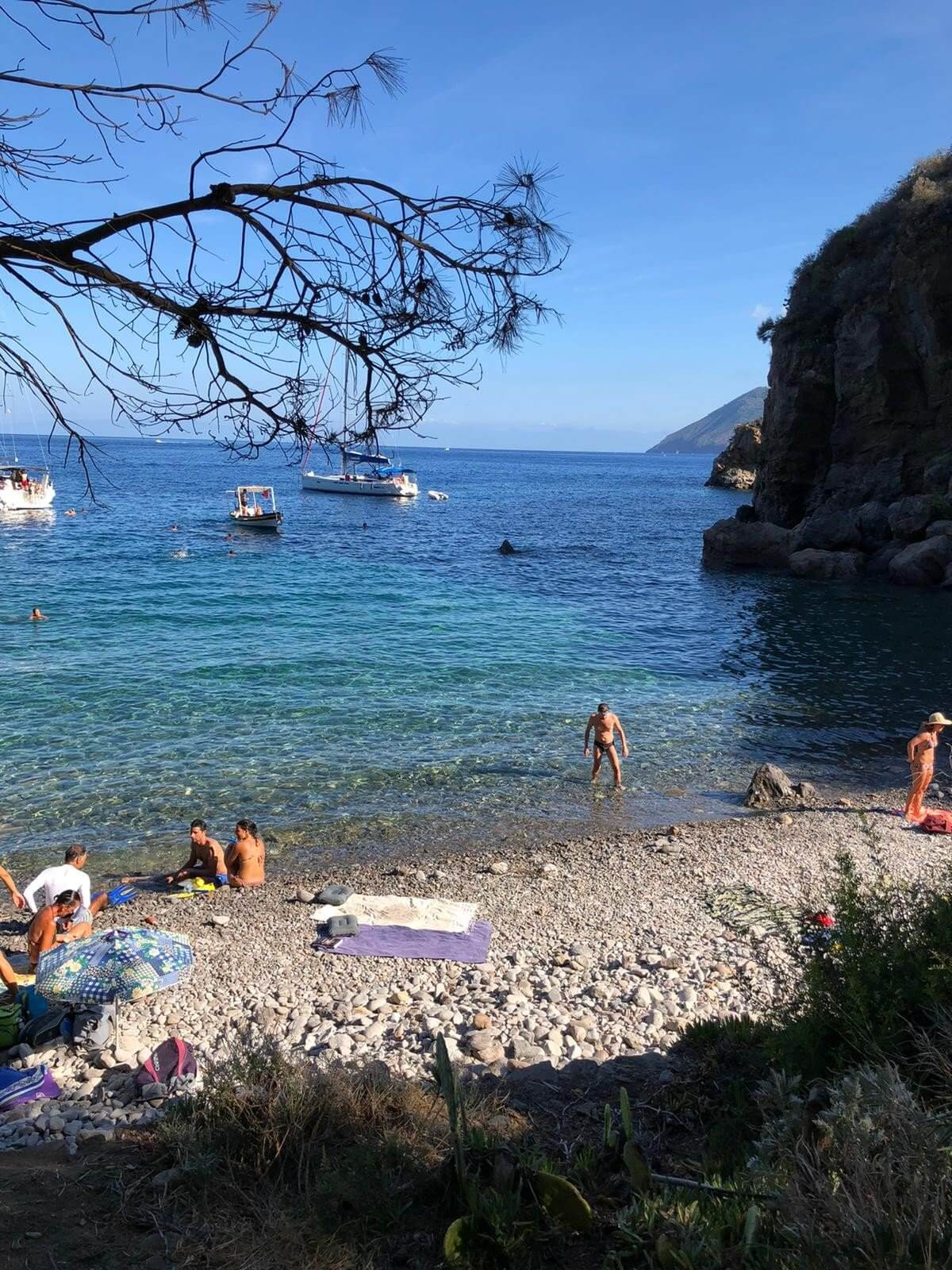 Lipari Praia Ferrante 2 Alla scoperta di Lipari