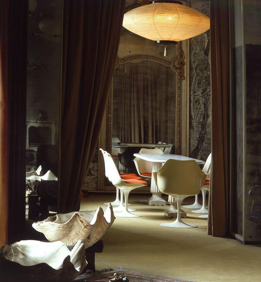 casa mollino living room FUORISALONE 2021