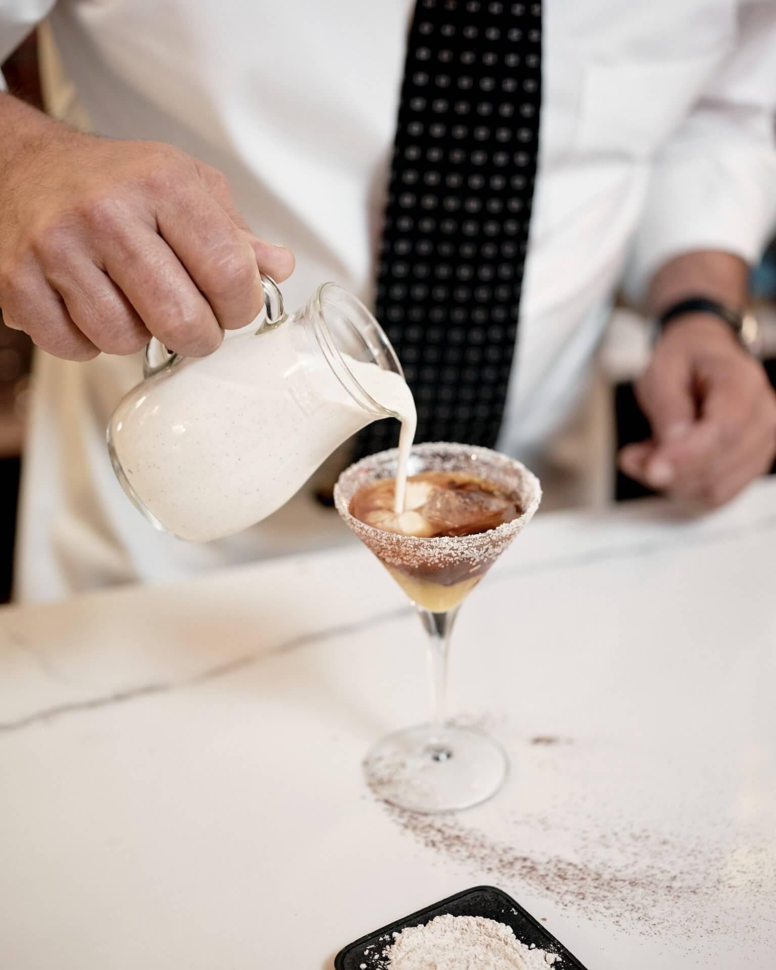 Creamy Primitivo in preparazione BAR BASSO
